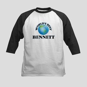 World's Best Bennett Baseball Jersey