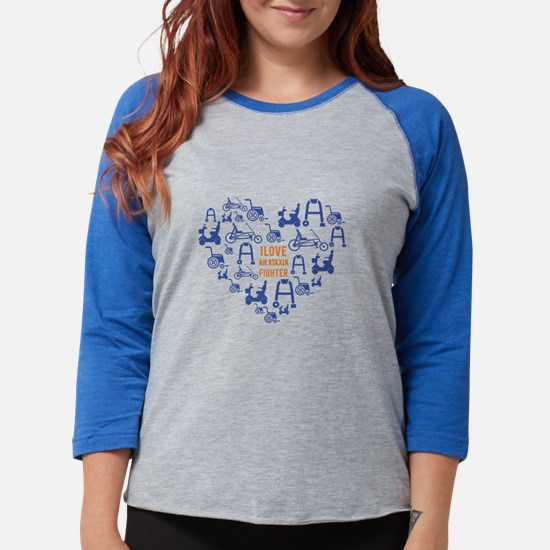 I love an ataxia fighter 1 Long Sleeve T-Shirt