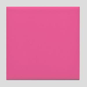 Pink Tile Coaster