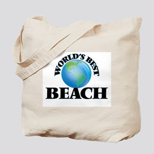 World's Best Beach Tote Bag