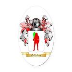 Gilholme Oval Car Magnet