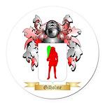 Gilholme Round Car Magnet