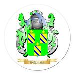 Gilgmann Round Car Magnet