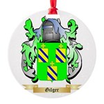 Gilger Round Ornament