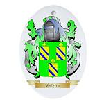 Giletto Ornament (Oval)