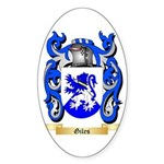 Giles Sticker (Oval)