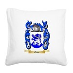 Giles Square Canvas Pillow