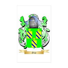 Gile Sticker (Rectangle 50 pk)
