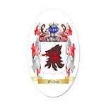 Gildea Oval Car Magnet