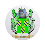 Gilcher Ornament (Round)