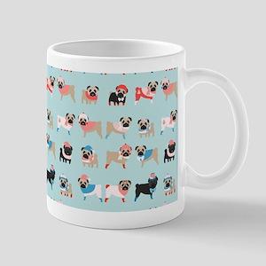 Winter Pugs Mug