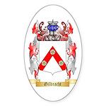 Gilbracht Sticker (Oval 50 pk)