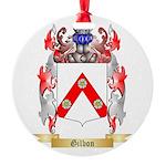 Gilbon Round Ornament