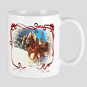 Holiday season' s sleigh ride Mugs