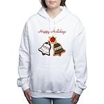 Christmas Cookie Bells Women's Hooded Sweatshirt