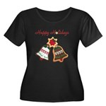 Christmas Cookie Bells Plus Size T-Shirt