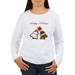 Christmas Cookie Bells Long Sleeve T-Shirt