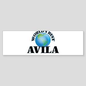 World's Best Avila Bumper Sticker