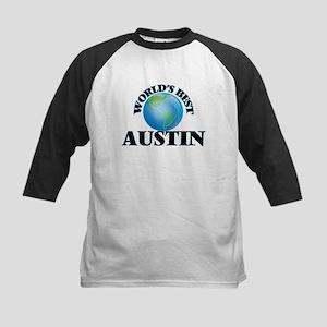 World's Best Austin Baseball Jersey