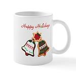 Christmas Cookie Bells Mugs
