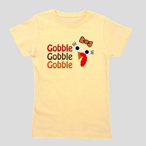 Gobble, gobble, gobble Girl's Tee