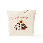 Christmas Cookie Bells Tote Bag