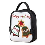 Christmas Cookie Bells Neoprene Lunch Bag