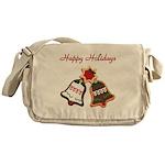 Christmas Cookie Bells Messenger Bag