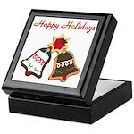 Christmas Cookie Bells Keepsake Box