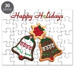 Christmas Cookie Bells Puzzle