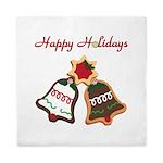 Christmas Cookie Bells Queen Duvet