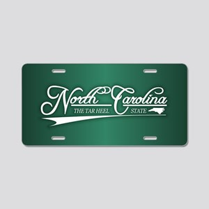 North Carolina State of Mine Aluminum License Plat