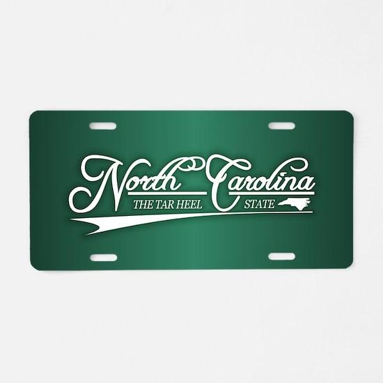 North Carolina State of Mine Aluminum License Plat