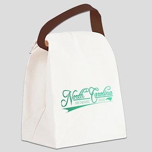 North Carolina State of Mine Canvas Lunch Bag