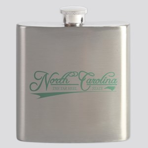 North Carolina State of Mine Flask