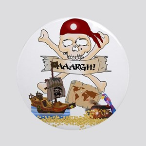 Pirate Day Icons Ornament (Round)