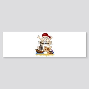 Pirate Day Icons Bumper Sticker