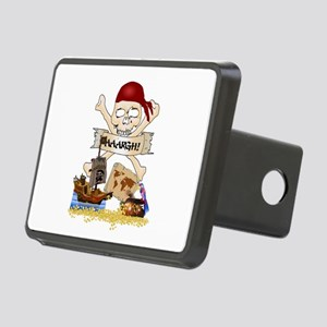 Pirate Day Icons Rectangular Hitch Cover
