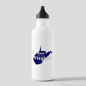 wv by god scripty Water Bottle