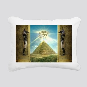 Anubis40 Rectangular Canvas Pillow