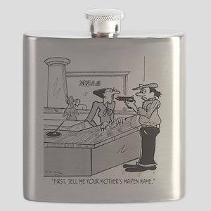 Bank Cartoon 2922 Flask