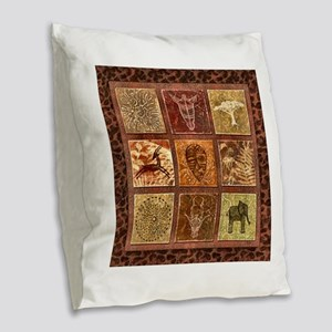 Image11a Burlap Throw Pillow