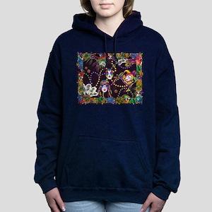 Best Seller Mardi Gras Women's Hooded Sweatshirt