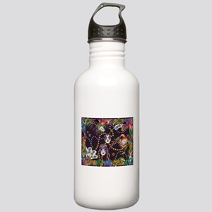 Best Seller Mardi Gras Stainless Water Bottle 1.0L
