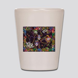 Best Seller Mardi Gras Shot Glass