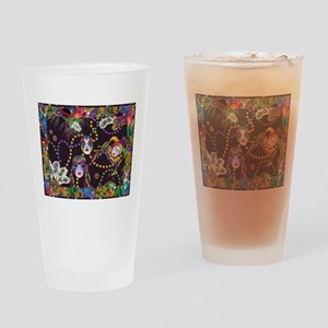Best Seller Mardi Gras Drinking Glass
