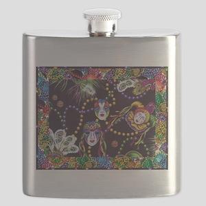 Best Seller Mardi Gras Flask