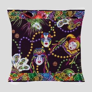 Best Seller Mardi Gras Woven Throw Pillow