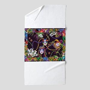 Best Seller Mardi Gras Beach Towel