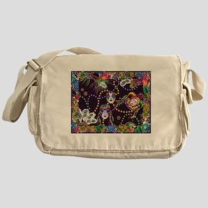 Best Seller Mardi Gras Messenger Bag